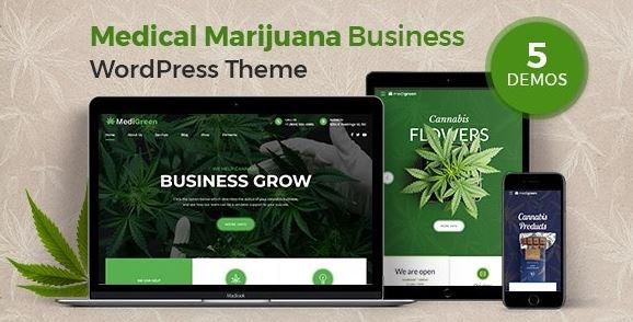 MediGreen-医用大麻和药房WordPress主题