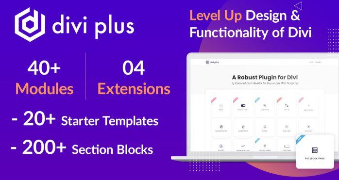 Divi Plus-用于Divi主题的41个功能强大的模块