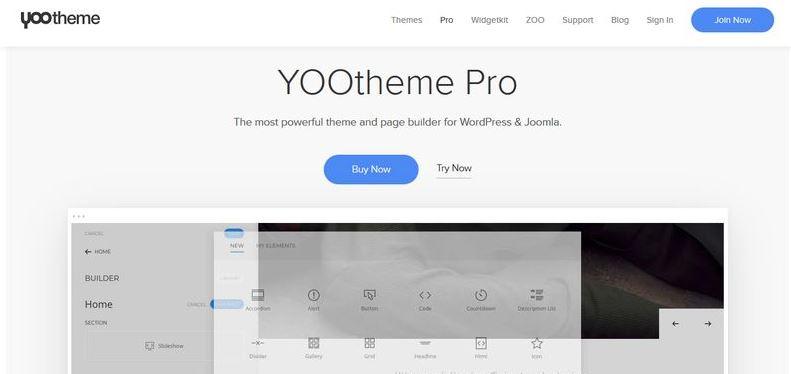 YOOtheme Pro-WordPress的强大主题和页面生成器