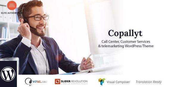 Copallyt-呼叫中心和电话销售WordPress主题