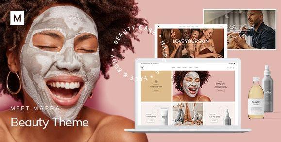 Marra-Beauty WordPress主题