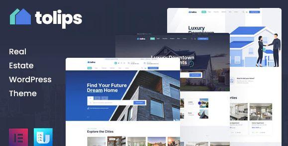 Tolips-房地产WordPress主题