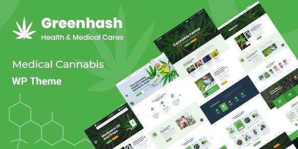 Greenhash-医疗WordPress主题