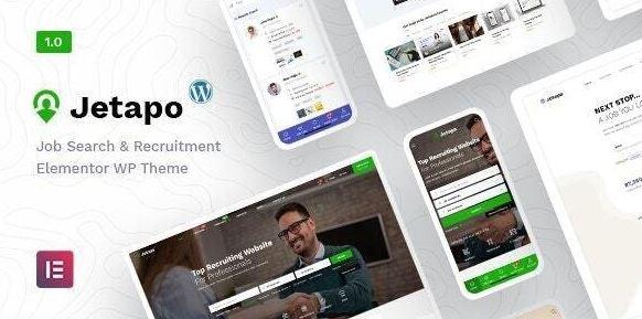 Jetapo |  Jobboard WordPress主题