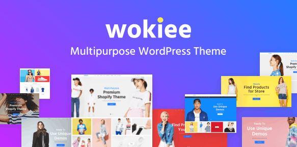 Wokiee-多用途WooCommerce WordPress主题