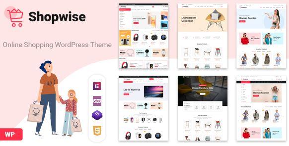 Shopwise-时尚商店WooCommerce主题