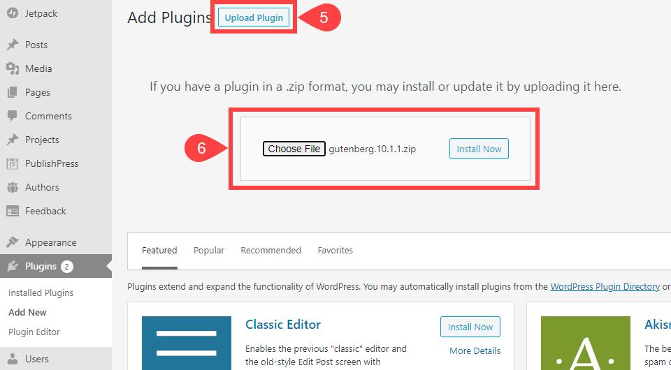 如何安装wordpress-plugin-3-different-ways-6如何安装WordPress插件(3种不同方式)