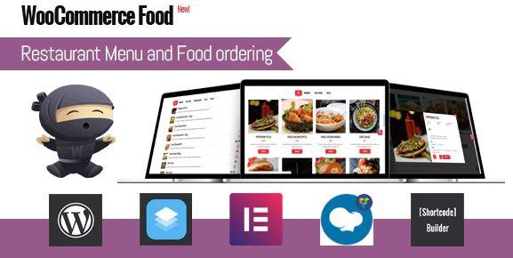 WooCommerce Food-餐厅菜单和食物订购