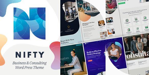 Nifty-商业咨询WordPress主题
