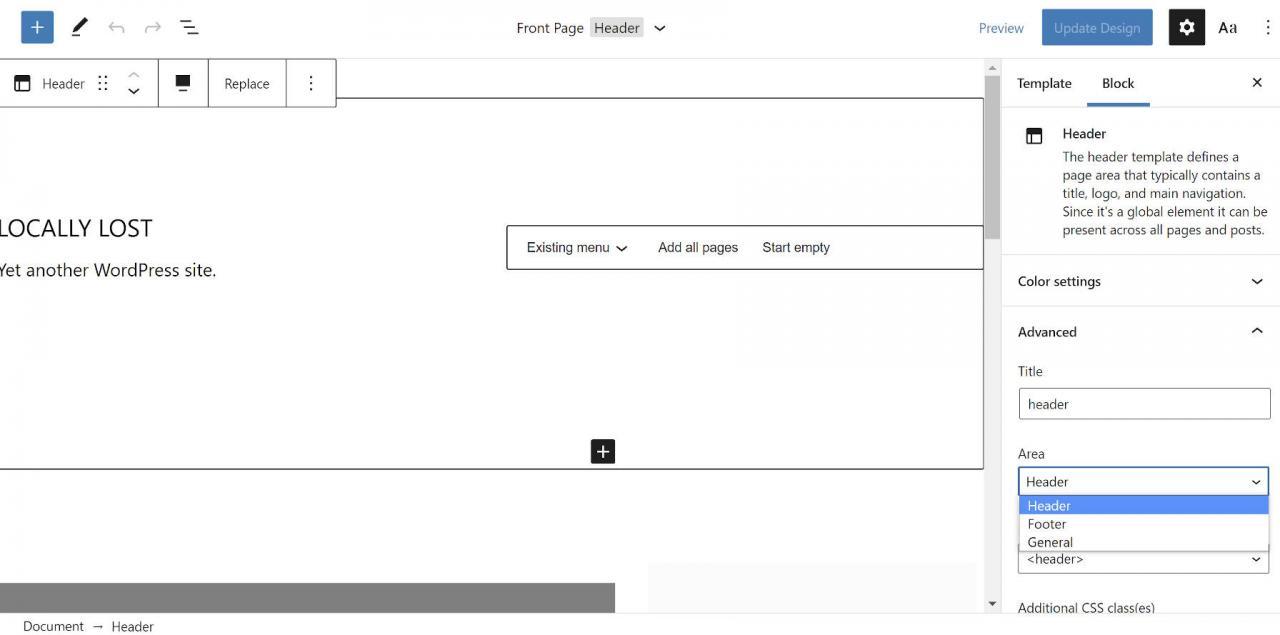 gutenberg-10-2-在导航列表中添加空格,让用户分类模板部分并引入范围模式1 Gutenberg 10.2将空格添加到导航列表中,让用户对模板零件进行分类,以及引入作用域模式