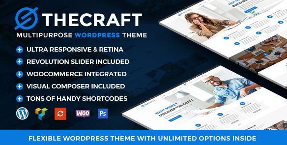 TheCraft   响应式多用途高级WordPress主题