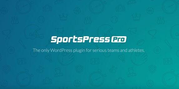SportsPress Pro-面向認真的團隊和運動員的唯一WordPress插件