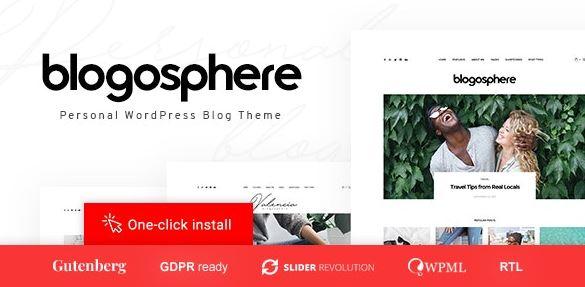 Blogosphere-多用途博客主题