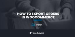 出口woocommerce订单