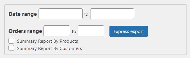 在woocommerce中导出订单-基于日期范围的订单