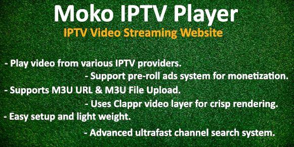 Moko IPTV Player-IPTV视频流网站