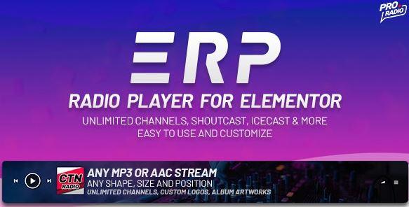 Erplayer-Elementor的电台播放器
