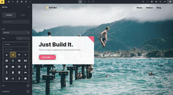Bricks Builder-建立排名最高的WordPress网站
