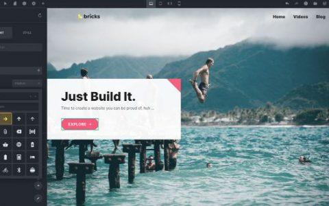 Bricks Builder v1.0 –建立排名最高的WordPress网站
