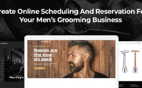 Groomly1.2.48 –男士美容日程安排和预定WordPress主题