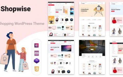 Shopwise v1.4.4 –時尚商店WooCommerce主題