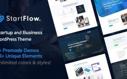 StartFlow v1.12 | 响应式多用途WordPress主题