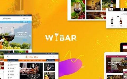 Wibar v2.0 | 葡萄酒和葡萄园WooCommerce WordPress主题
