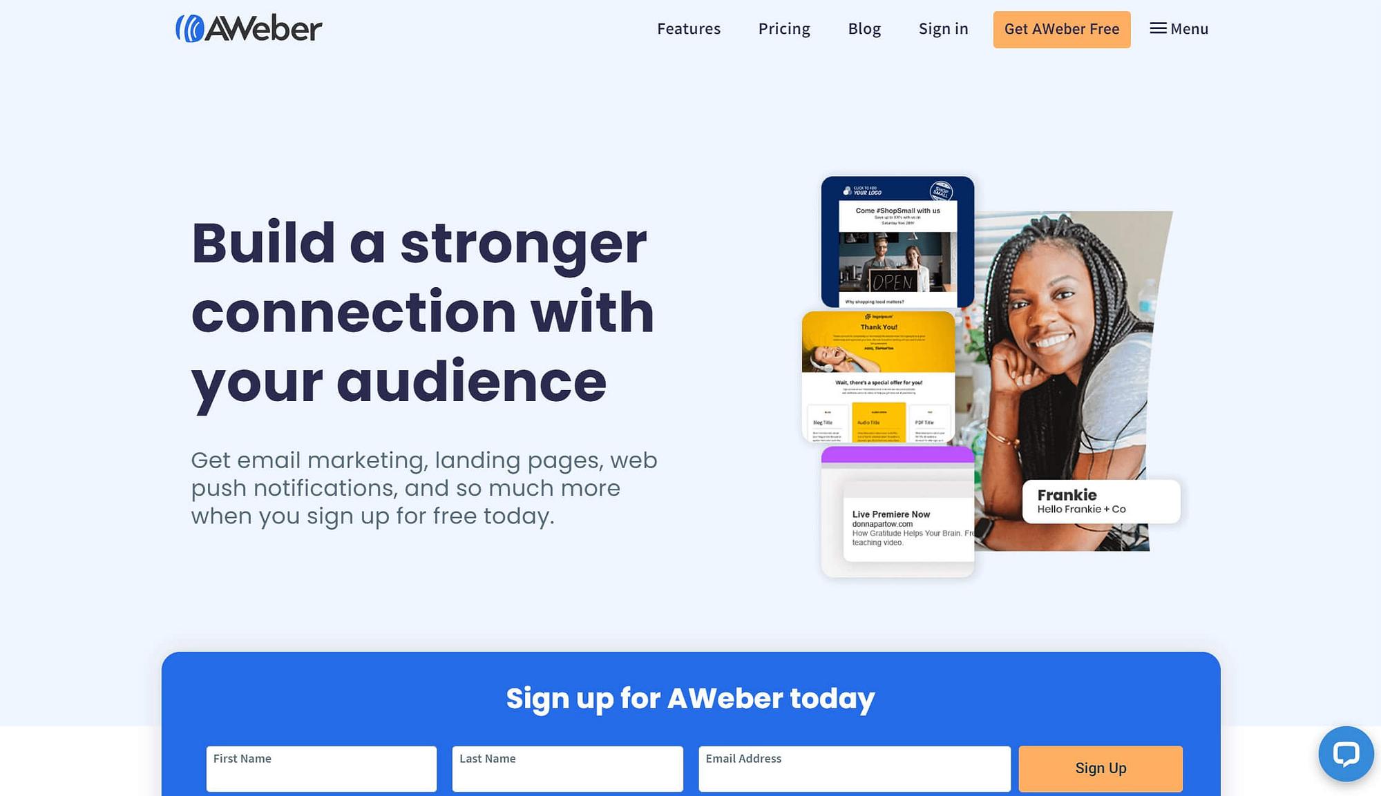 AWeber电子邮件自动回复工具。
