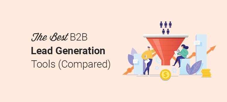 最佳B2B潜在客户生成工具