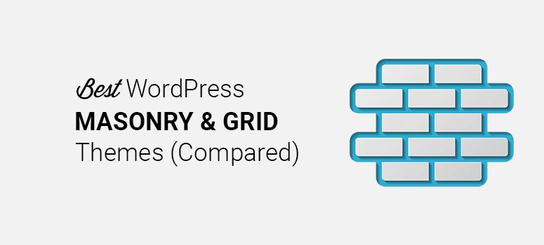 最佳砌体和网格WordPress主题