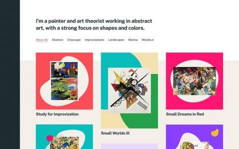 Eksell投资组合主题现在可在WordPress主题目录中使用