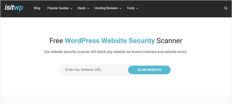 IsItWP WordPress安全扫描程序