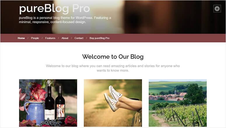 PureBlog Pro