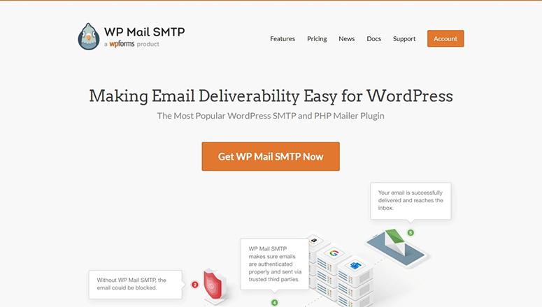 WP Mail SMTP插件