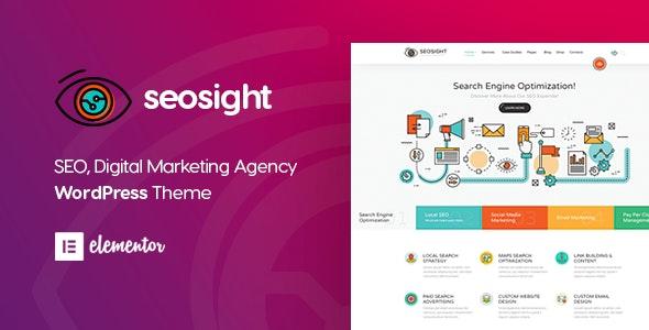 Seosight v5.7 – WordPress SEO代理商的模板