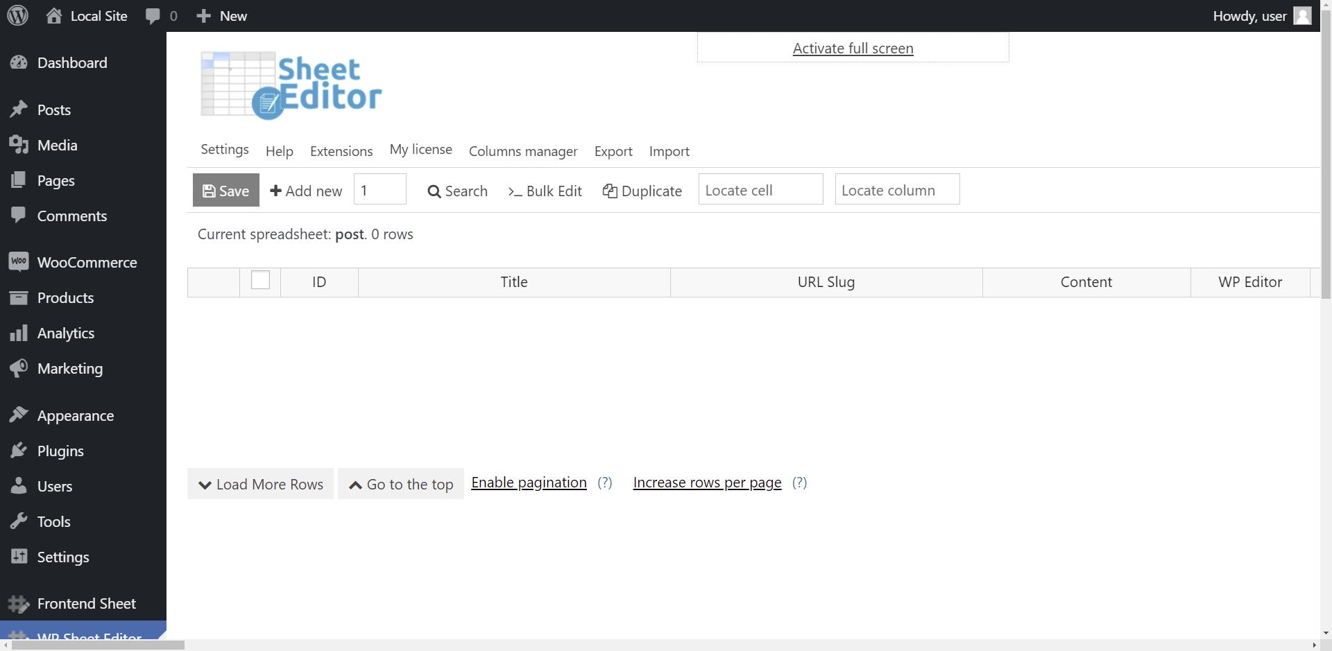 WordPress的出口职位