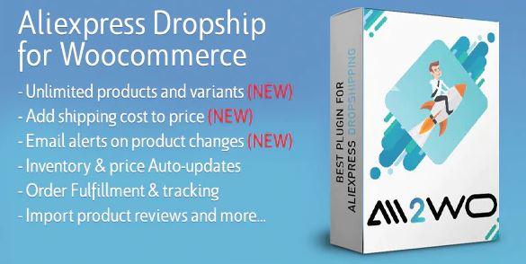 适用于WooCommerce的AliExpress Dropshipping业务插件