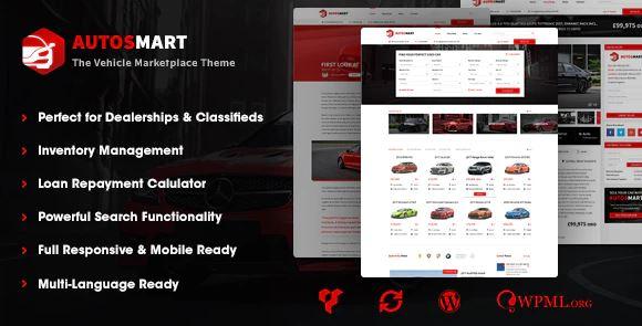 AutosMart-汽车经销商WordPress主题