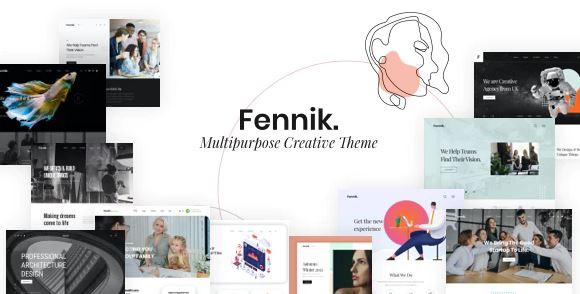 Fennik-多用途创意WordPress主题