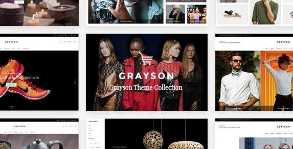 Grayson-服装WordPress商店主题
