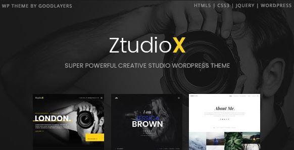Ztudio X-摄影WordPress主题