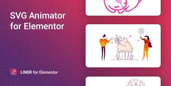 衬板-Elementor的SVG动画