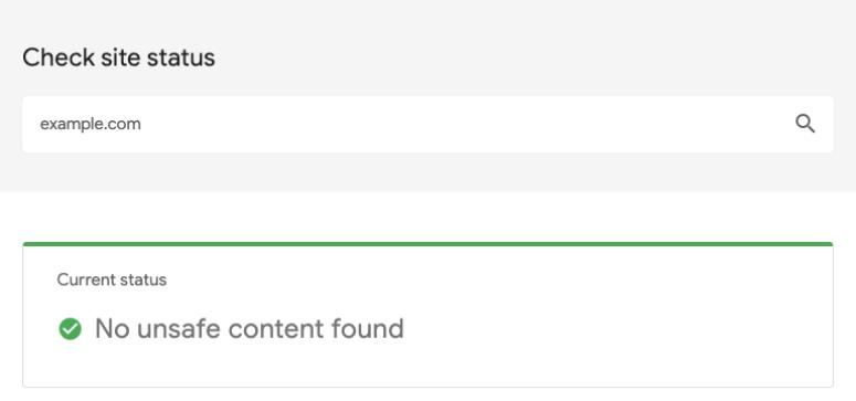 Google安全浏览