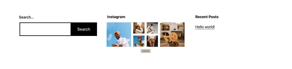 Spotlight Instagram窗口小部件显示