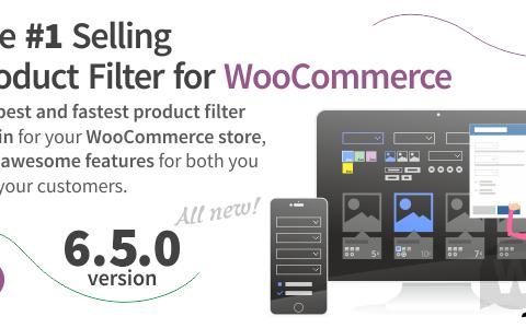 WooCommerce产品过滤器v8.1.1 – WooCommerce产品过滤器