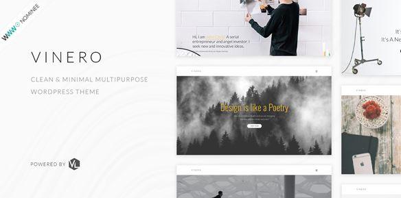 Vinero-创意多用途WordPress主题
