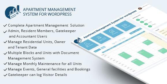 WPAMS-WordPress的公寓管理系统