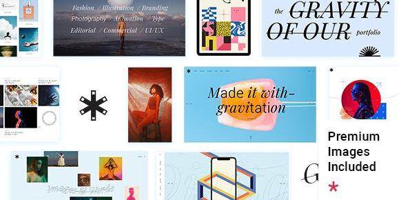 Emeline-Creative Agency Elementor主题