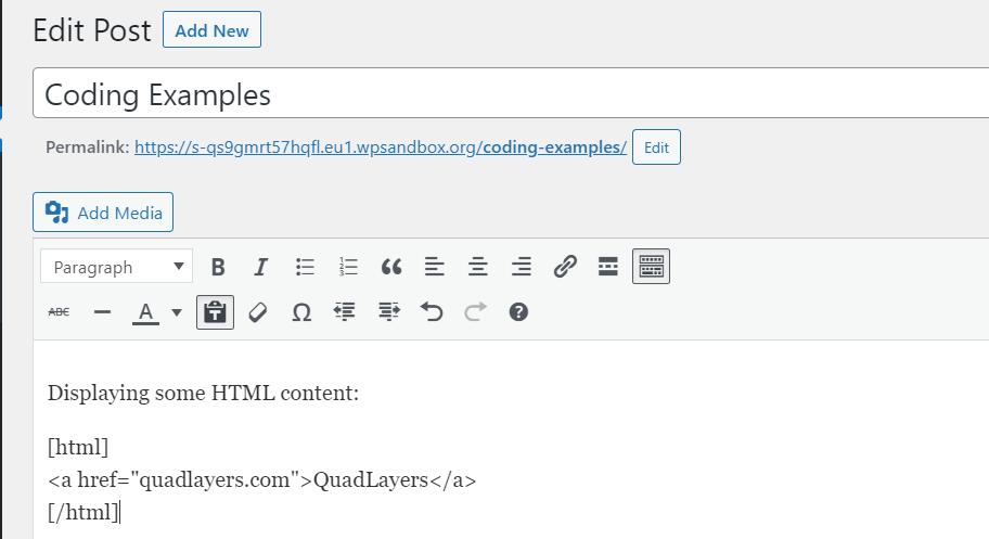显示HTML代码