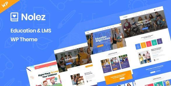 Nolez-教育WordPress主题